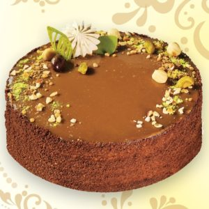 Торт Карамель-шоколад