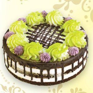 Торт Пломбир-черника