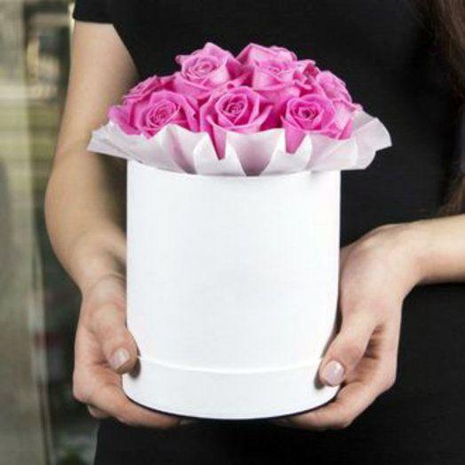 розовые розы Красноярск