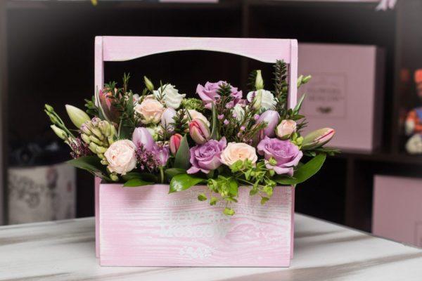 ящик с цветами Красноярск