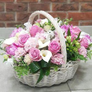 Розовый пудинг