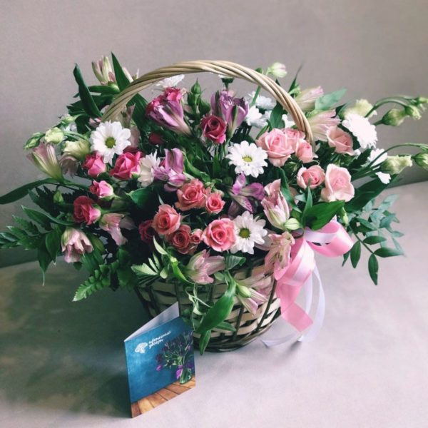 розы кустовые Красноярск