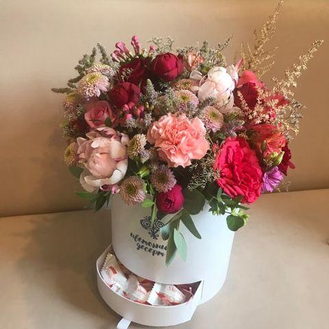 кустовые розы Красноярск