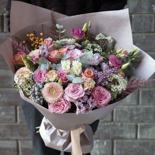 пионовидные розы Красноярск