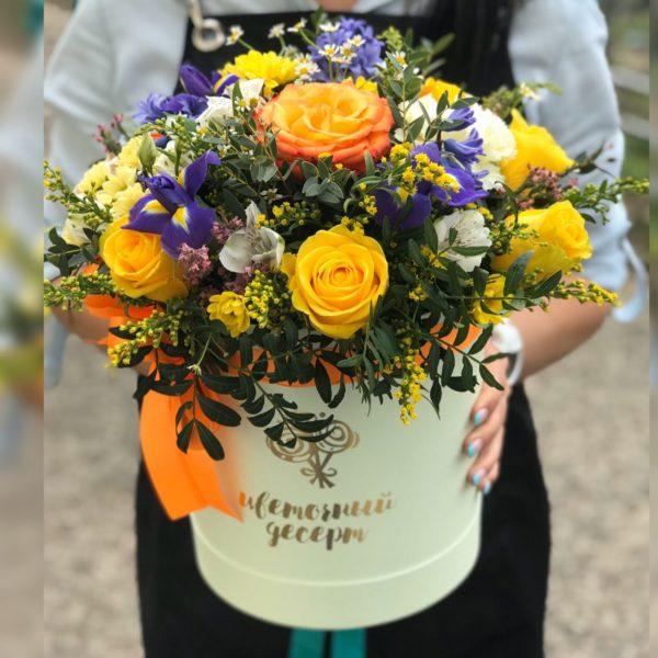 желтые розы Красноярск