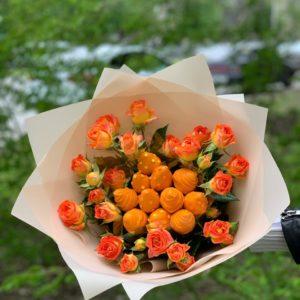 Оранжевый десерт