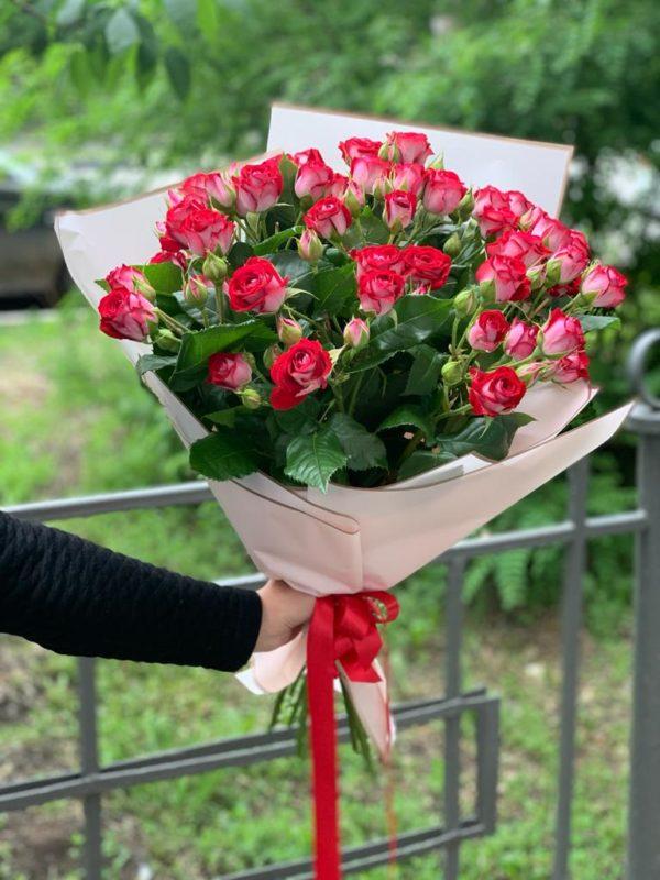 роза кустовая Красноярск