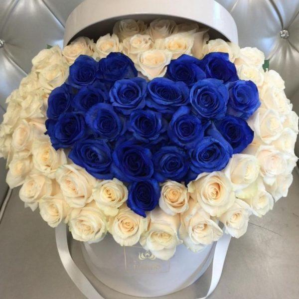 синие розы Красноярск