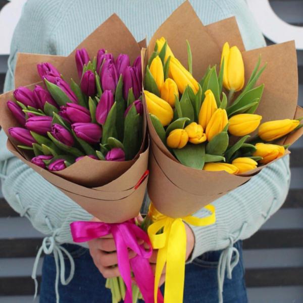 тюльпаны Красноярск